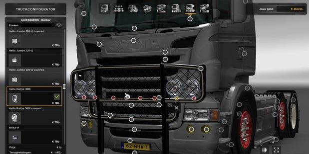 DAF and Scania Bullbar 1.33.x