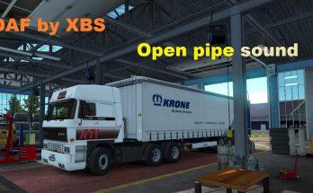 Daf F241 Open Pipe sound v1.0
