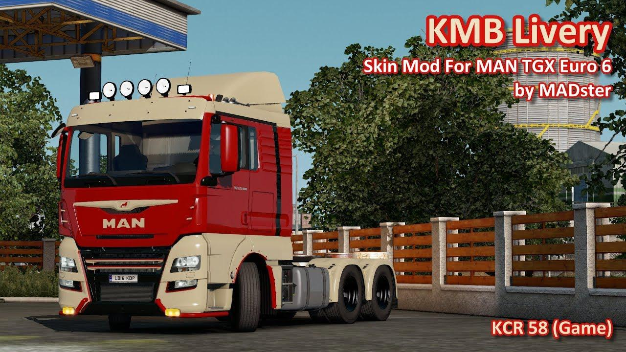 KMB Livery For MAN TGX Euro 6 by MADster
