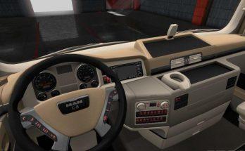 MAN TGX Lux Interior 1.34.x