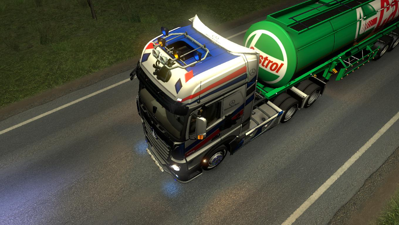 Mercedes Actors Mp4 Heavy Truck skin Panther Speed 4k v1.0
