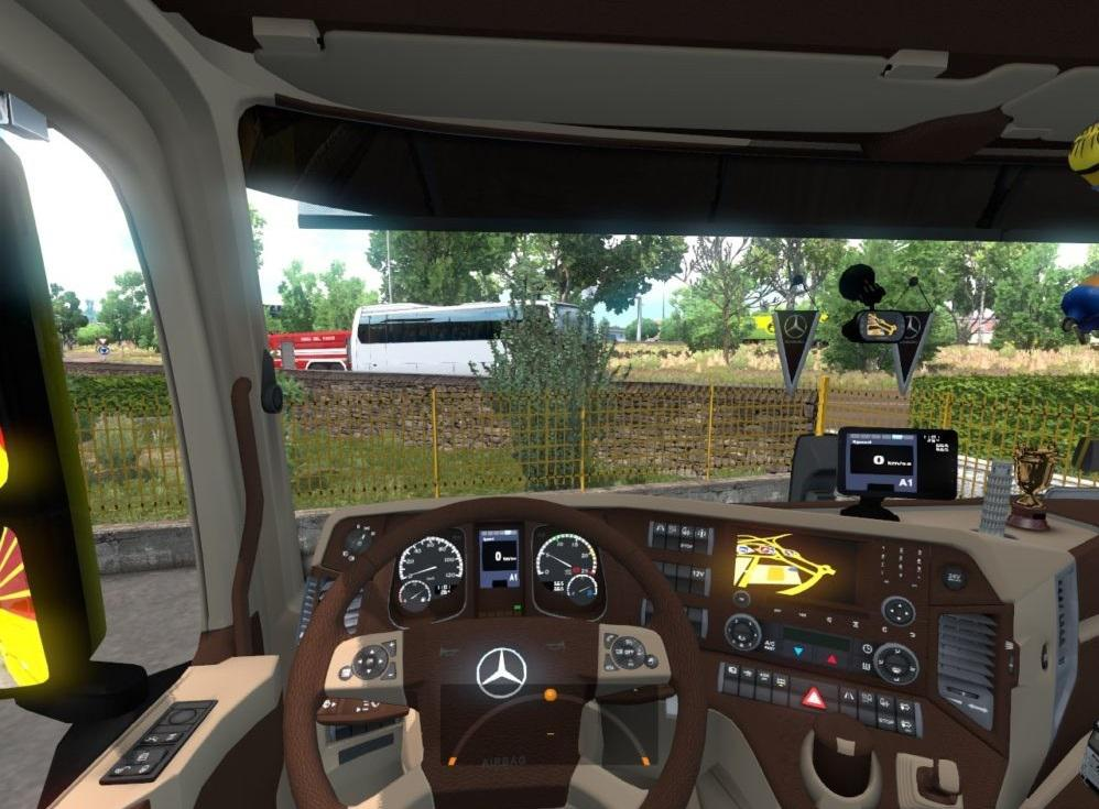 Mercedes Actros MP4 Interior 1.33.x