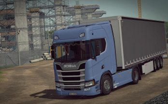 More Realistic Truck Physics for SCS trucks in ETS2 1.34.x