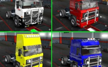 Parts adapted for DAF F241 v1.0