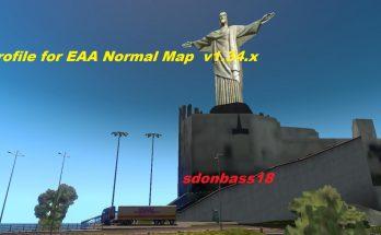 Profile for Brazil map EAA Normal v5.0.9