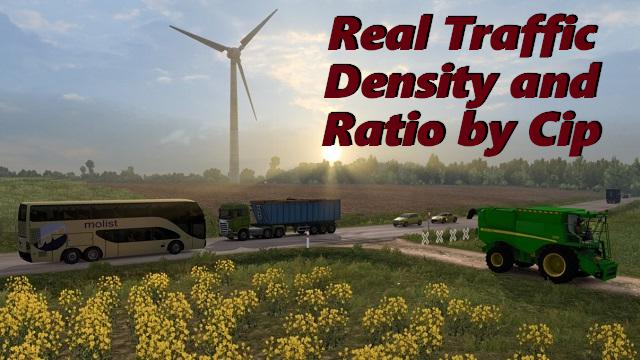 Real Traffic Density update 1.33.x