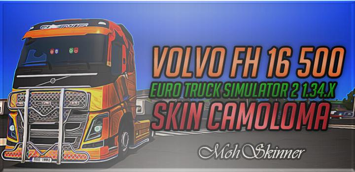 Skin - CamoloMa - ETS2 1.34.x