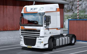 Skin SPECIAL EDITION for DAF XF 105 by vad&k v1.0