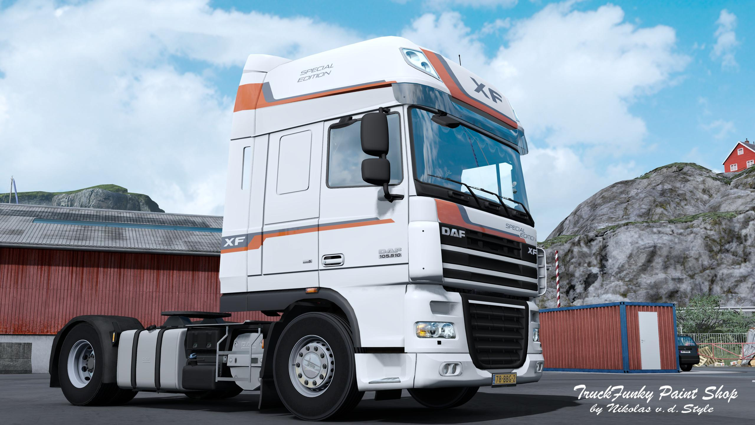 Skin SPECIAL EDITION for DAF XF 105 by vad&k v 1 0 | Allmods net