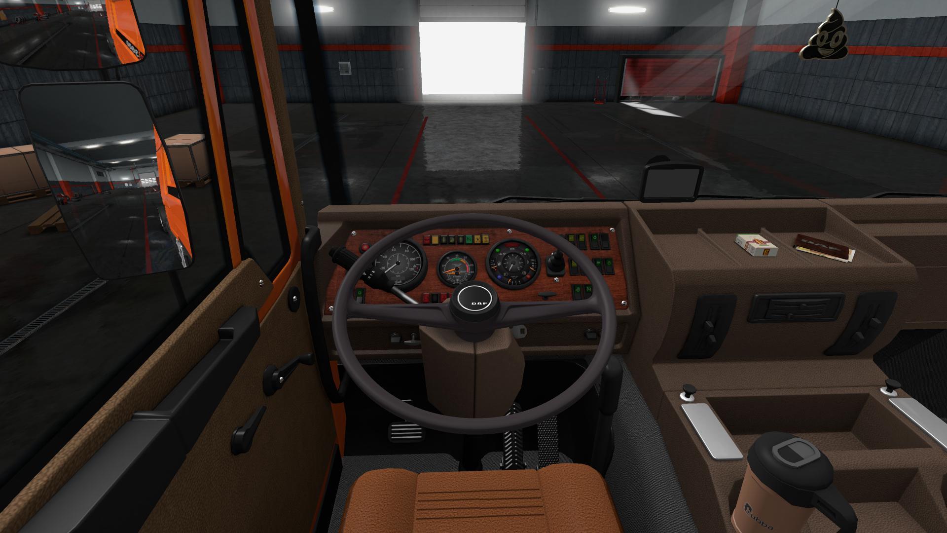 Steering Wheel Addon for Daf F241 v1.0