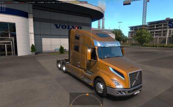 Truck Volvo VNL 2018 v2.17 ETS2 1.33, 1.34