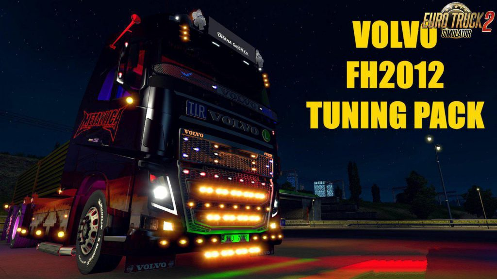 Volvo FH 2012 Tuning Pack v 2.0 1.36.x