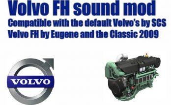 Volvo FH sound mod update 1.34