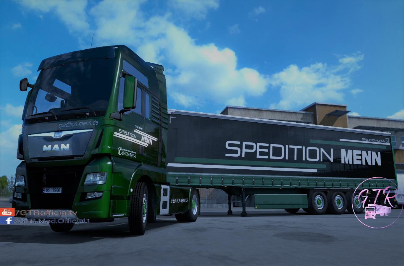 Skin Pack Spedition Menn for MAN TGX Euro 6 1.34.x
