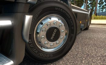 Pack wheels for trucks and trailers 1.32 - 1.34