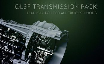 Dual Clutch Transmission Pack 10 for all Trucks + mods by OLSF 1.34.x