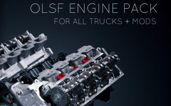 Engine Pack 38 for all Trucks + mods by OLSF 1.34.x