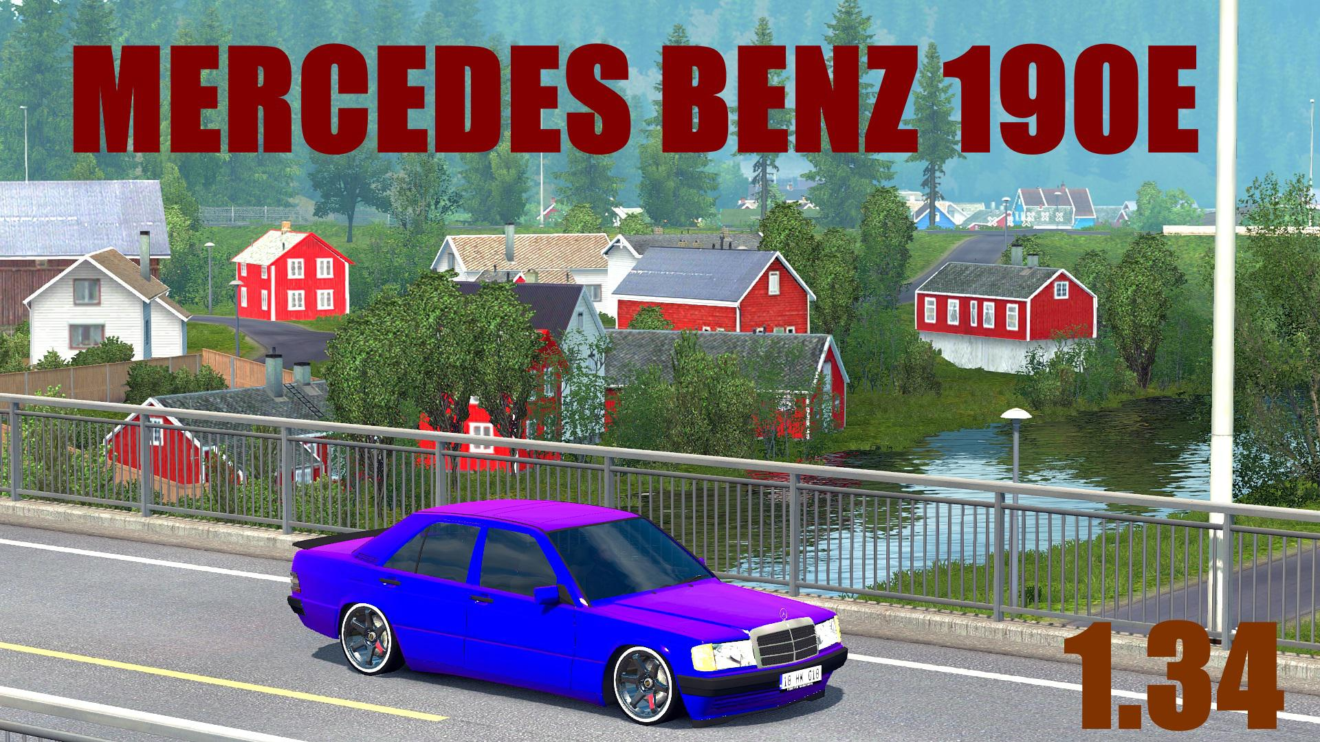 Mercedes Benz 190E ATS 1.34 Fix
