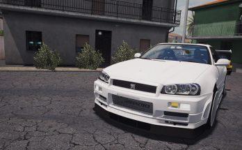 Nissan Skyline GTR-R34 ATS 1.34