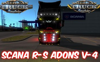 Scania R-S Adons v4.0 for ATS 1.34