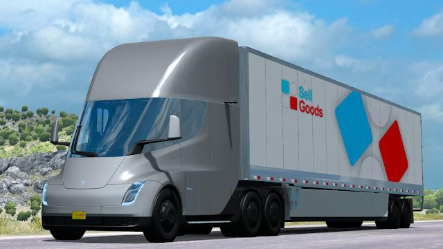 Tesla Semi Truck 2019 1.34