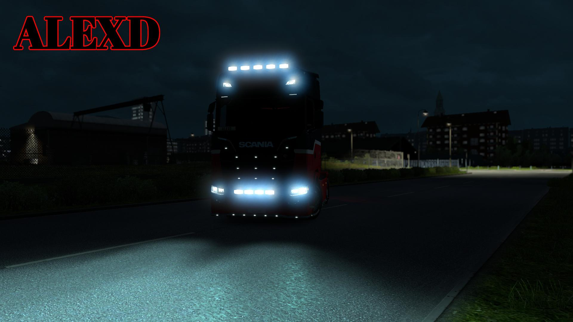 ALEXD FLARE AND 5500 LIGHTS FOR ALL TRUCKS 1.34