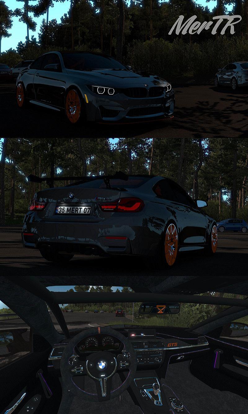 BMW M4 GTS Coupe RWD 2016 1.34.x