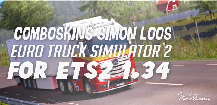 ComboSkins Simon Loos For ETS2 1.34.x