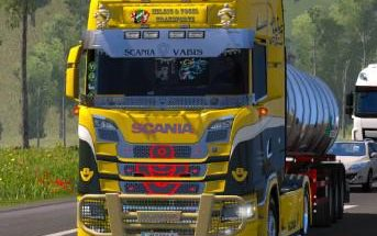 Deep Scania V8 Crackle v1.0