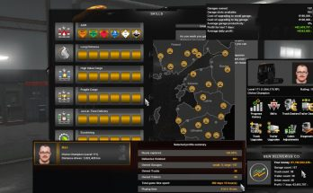 ETS2 100% Explored Save Game Profile (v1.34s - The Baltic Sea)