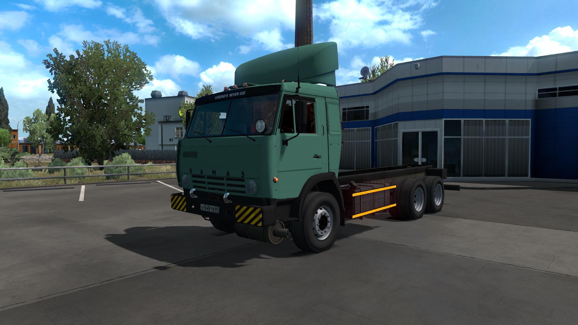 ETS2 Mods Pack - Kamaz Trucks Pack 1.34.x