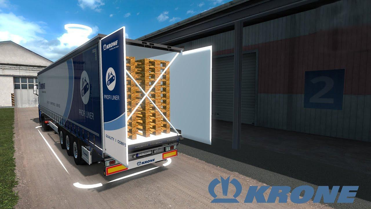 Krone Megaliner with Swing door v1.0 1.34.x
