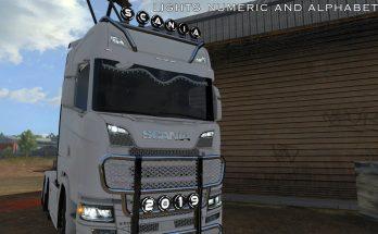 Lights Numeric And Alphabetic All Trucks 1.34