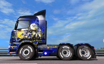 Live After Death – Iron Maiden skin Scania Streamline v1.0