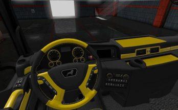 MAN Euro 6 Black Gold Interior MADster 1.34.x