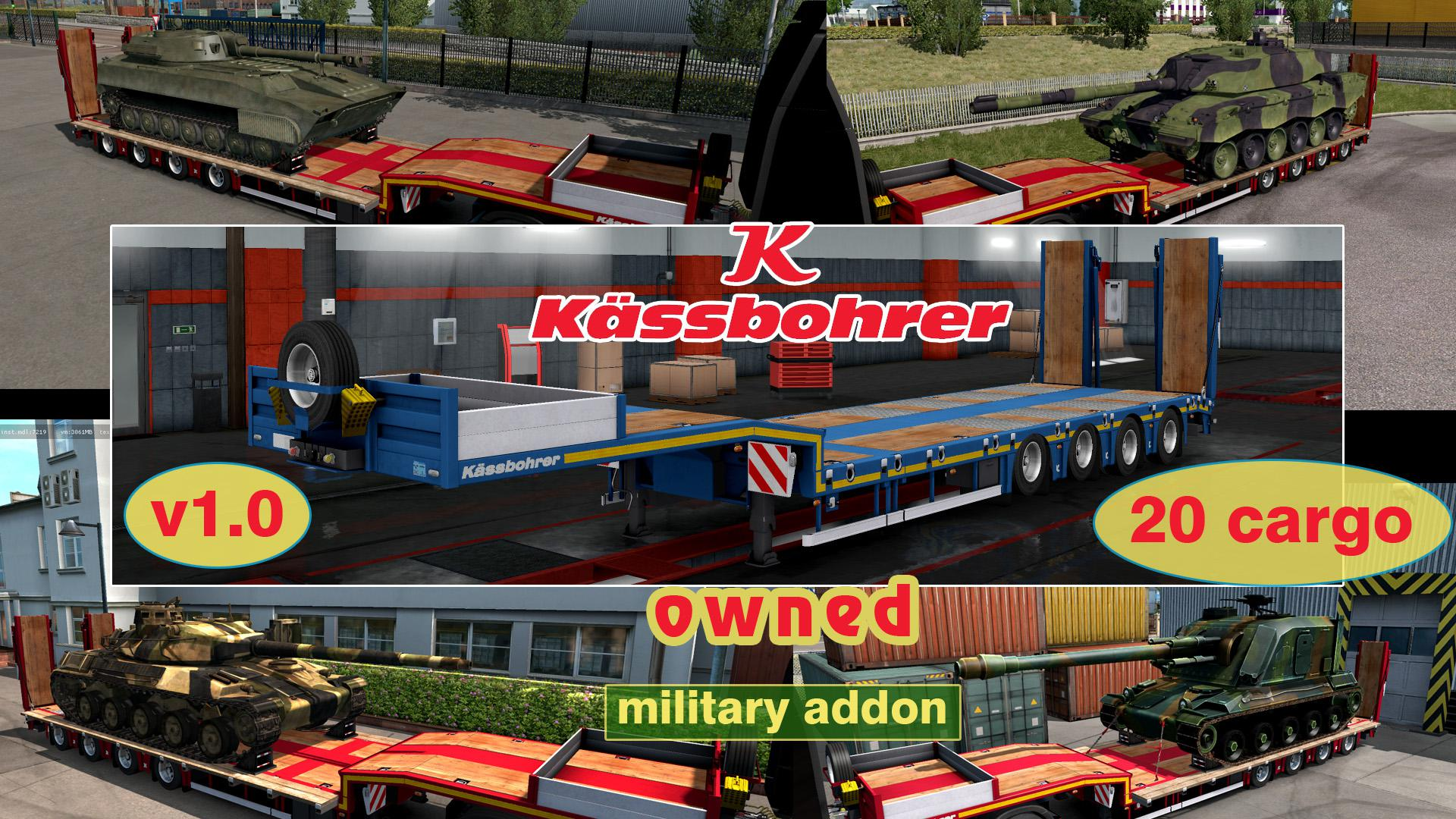 Military Addon for Ownable Trailer Kassbohrer LB4E v1.0