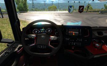 Platinium Interior for Scania Next Generation (high quality) v1.0