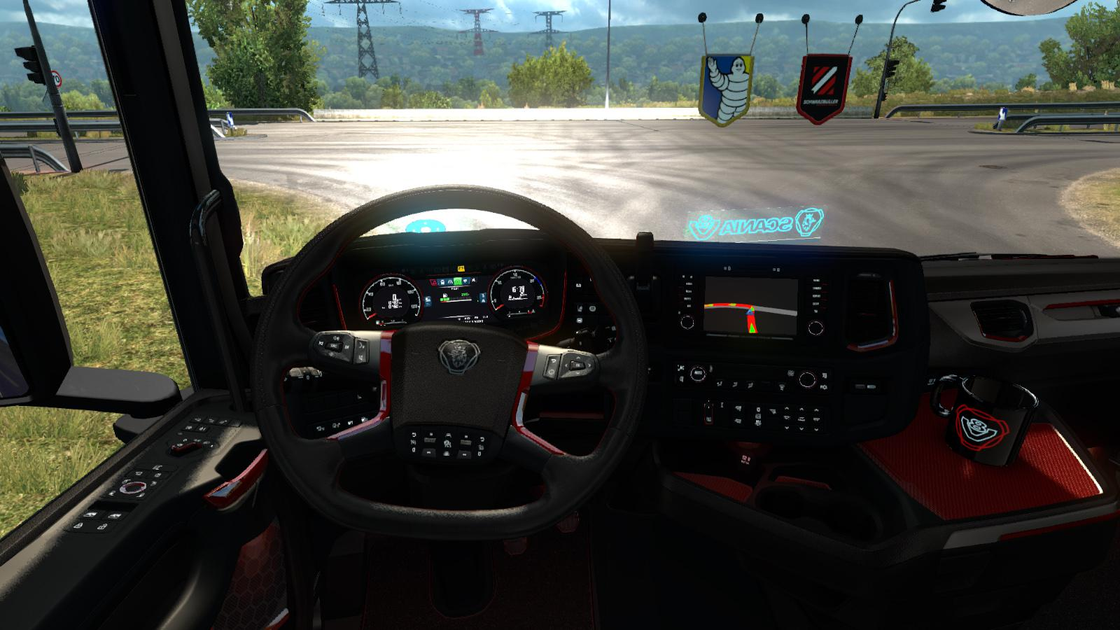 Platinium Interior for Scania Next Generation (high quality