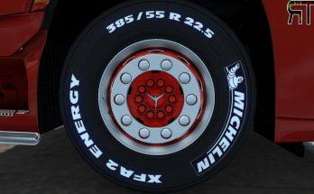Rhodee Tuning Red White Skin for abbastreppas Wheel Pack v1.0