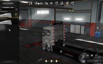 Scania Next Gen Tandem Spoiler Slots 1.34.x
