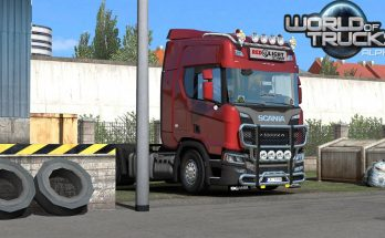 SCS World of Trucks Events Presents for your Truck 1.34.x