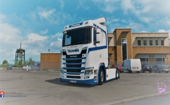 Skin Krone v1.1 for Scania S & R Next Gen