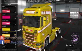 Skin Peru for Scania S Next Gen v1.1