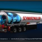 TZ Trailers pack with owned ETS2 1.34.x