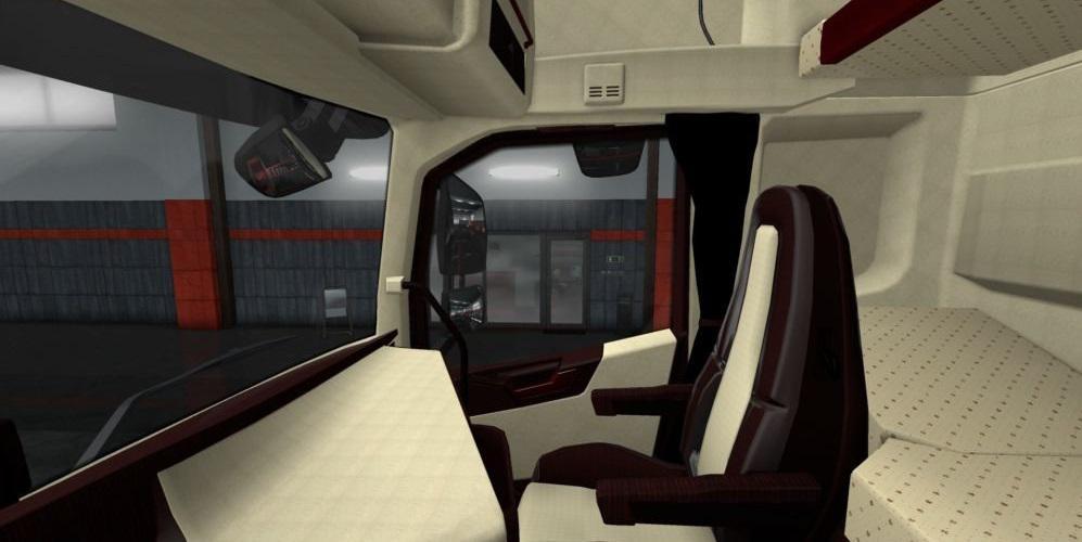 Volvo FH 2012 Bordeaux - Beige Lux Interior 1.34.x