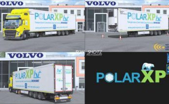 Volvo FM & Krone Coolliner Polar XP Pack v1.5