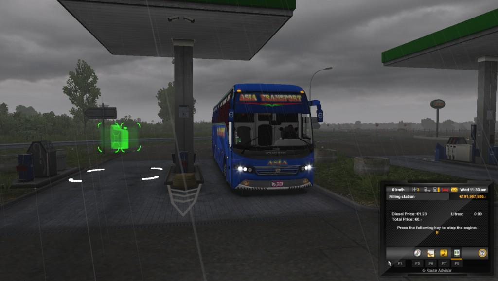 Volvo px 9700 asia bus for 4k Texture for 1.33 and 1.34