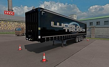 World of Trucks Krone PROFI LINER Owned Trailer 1.34.x