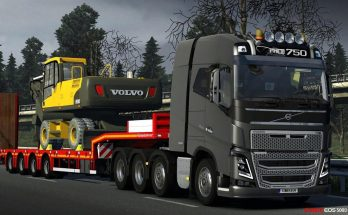 Volvo FH-16 and Trailer v7.0 1.34