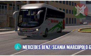 Mercedes Benz/Scania Marcopolo G7 1.34.x